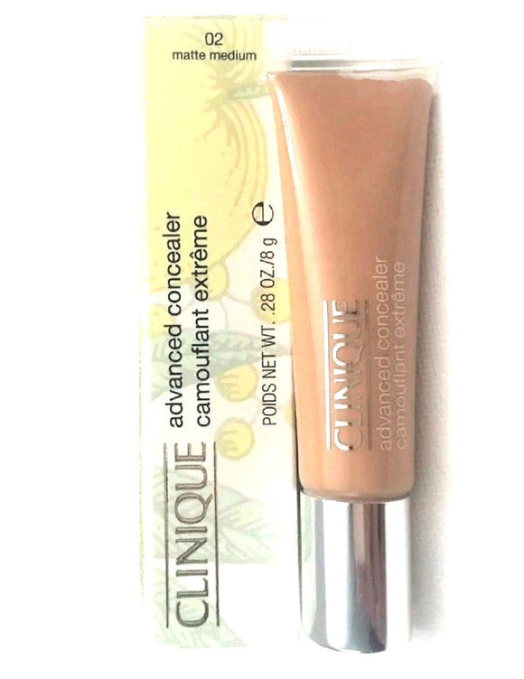 Clinique Advanced Concealer (Matte Medium 02) 8 g/.28 oz Full Size - FragranceAndBeauty.com