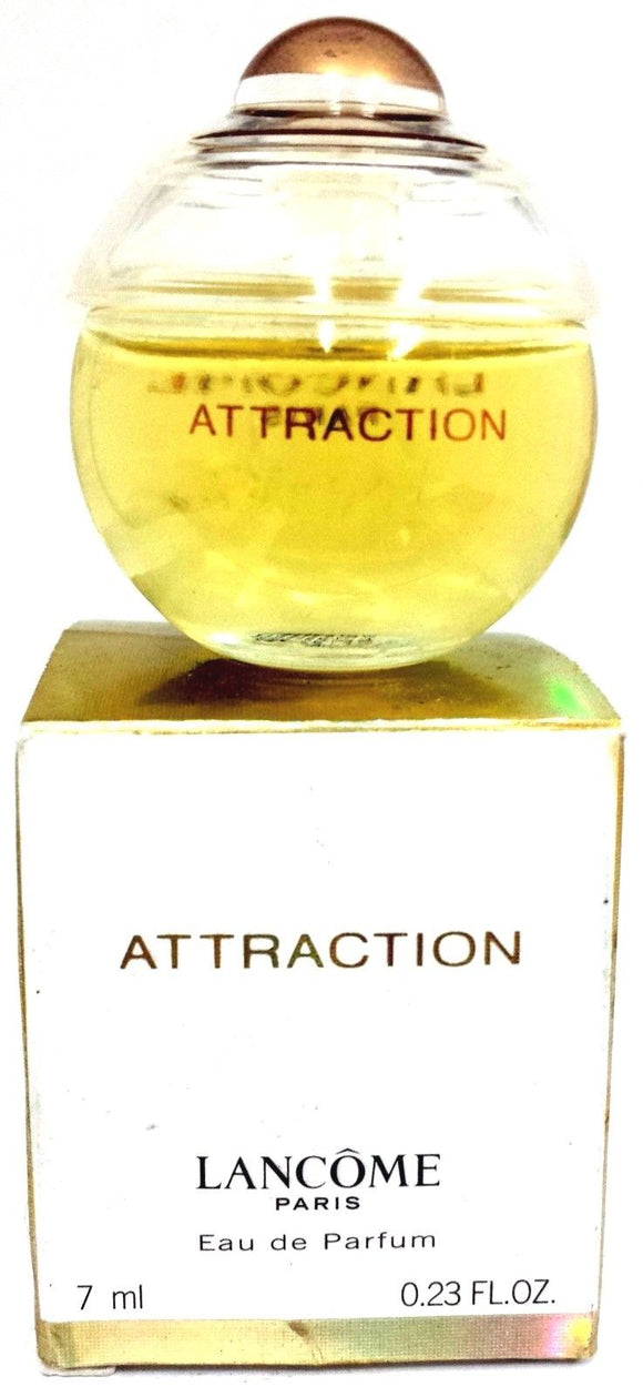 Attraction by Lancome Paris for Women 7 ml/.23 oz Eau de Parfum Miniature - FragranceAndBeauty.com