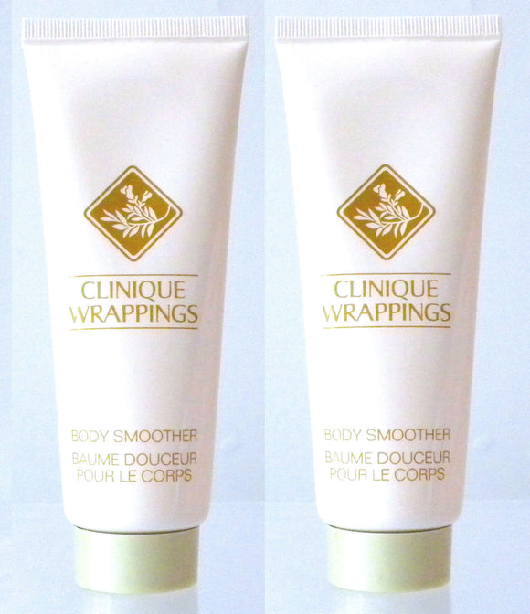 Wrappings by Clinique for Women 3.4 oz Body Smoother/Lotion (Lot of 2) - FragranceAndBeauty.com