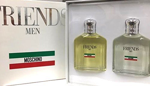 Friends by Moschino for Men 2-Piece Set: 4.2 oz Eau de Toilette Spray + 4.2 oz After Shave - FragranceAndBeauty.com