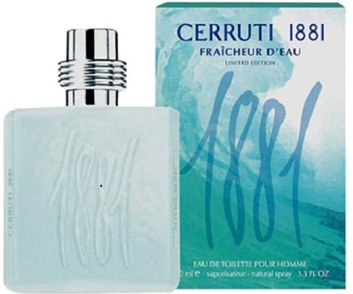 Cerruti 1881 Fraicheur D'Eau by Nino Cerruti for Men 3.3 oz Eau de Toilette Spray - FragranceAndBeauty.com