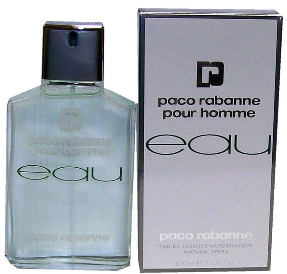 EAU Pour Homme by Paco Rabanne for Men 3.4 oz Eau de Toilette Spray - FragranceAndBeauty.com