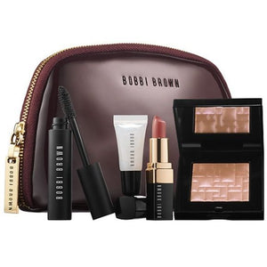 Bobbi Brown Party Picks 5 Piece: Cheek, Lip and Eye Kit (Opal Glow, Party Alice, Crystal) - FragranceAndBeauty.com