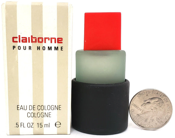 Claiborne (Vintage) by Liz Claiborne for Men 15 ml/.5 oz Eau de Cologne Miniature - FragranceAndBeauty.com