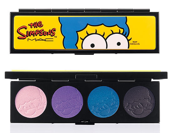MAC The Simpsons Marge's Extra Ingredients Quad Eye Shadow x 4 Palette - FragranceAndBeauty.com