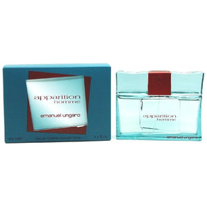 Apparition Homme by Emanuel Ungaro for Men 3.4 oz Eau de Toilette Spray - FragranceAndBeauty.com
