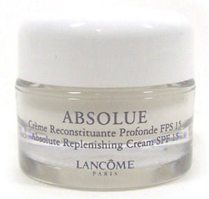 Lancome Absolue Absolute Replenishing Cream SPF 15 7 g/.25 oz each Travel/Sample Size (Lot of 2) - FragranceAndBeauty.com