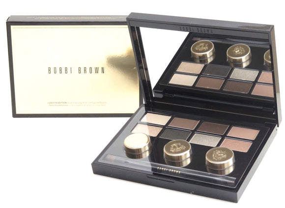 Bobbi Brown Luxe Eye Edition Shadow & Long Wear Gel Eyeliner Dual Brush Palette - FragranceAndBeauty.com