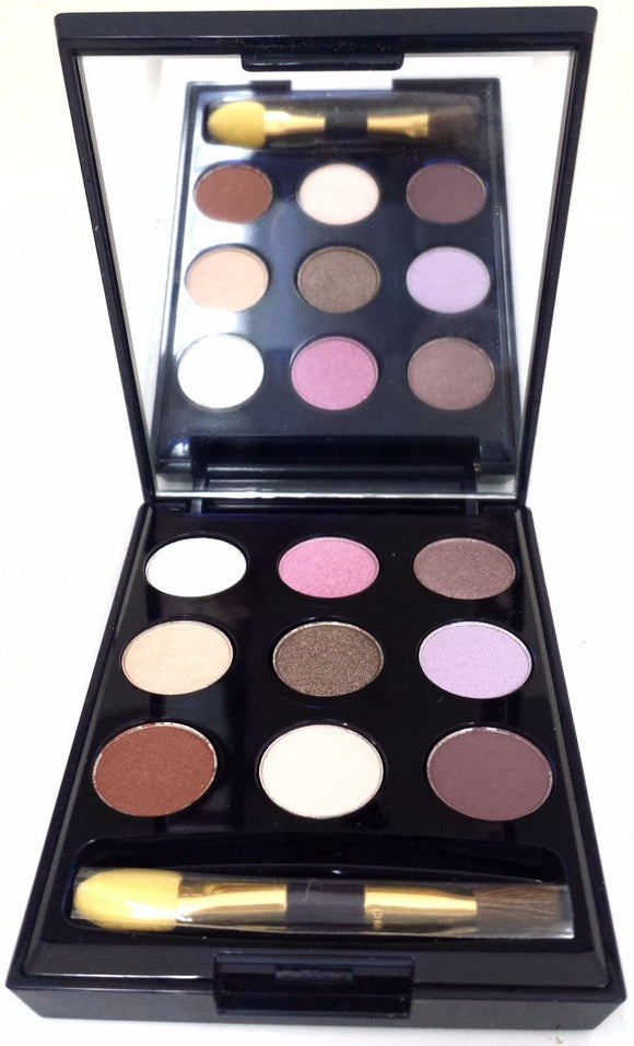 Estee Lauder Pure Color EyeShadow Deluxe Sample 9 Discontinued Color Palette Unboxed - FragranceAndBeauty.com
