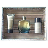 Realities Graphite Blue Liz Claiborne Men 3-Piece Set: 3.4oz Cologne + 3.4oz A/S Gel + 2.6oz Deo - FragranceAndBeauty.com