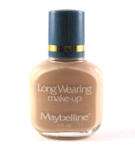 Maybelline Long Wearing Make-Up Foundation (Select Color) 1 oz Full Size Unboxed Hard To Find - FragranceAndBeauty.com