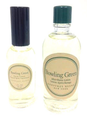 Bowling Green (Vintage) by Geoffrey Beene 2 Piece Set: 1 oz EDT + 2 oz After Shave Unboxed - FragranceAndBeauty.com