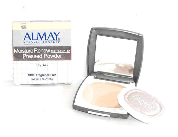 Almay Moisture Renew Matte Finish Pressed Powder Dry Skin (Translucent 13274) 11.3 g/.4 oz - FragranceAndBeauty.com