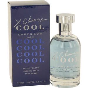 X Change Cool by Karen Low for Men 3.4 oz Eau de Toilette Spray - FragranceAndBeauty.com
