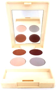 Estee Lauder Compact Disc Eye Shadow Quad (Select Shades) 3.1 g/.11 oz Travel/Sample Size Unboxed - FragranceAndBeauty.com