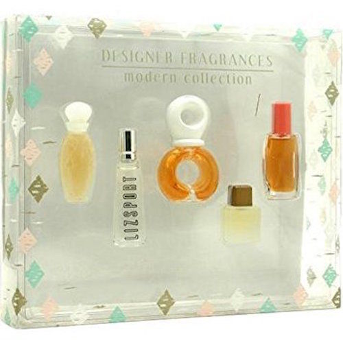 5-Piece Miniature Fragrance Set: Venus de L'amour, Liz Sport, Bijan, Realities and Spark - FragranceAndBeauty.com