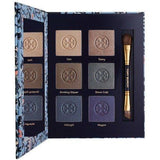 Tory Burch 6 Eye Shadow Palette + Dual Sided Brush (Cat's Meow) Full Size - FragranceAndBeauty.com