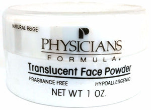 Physicians Formula Translucent Face Loose Powder w/Puff (Select Shade) 1 oz Full Size - FragranceAndBeauty.com