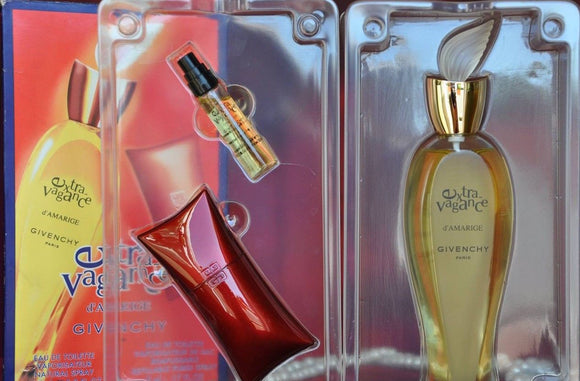 Extravagance d'Amarige Givenchy Women 3-Piece Set: 1.7 oz EDT + .17oz Purse Spray & Case - FragranceAndBeauty.com