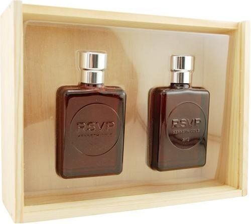 RSVP (Vintage) Kenneth Cole for Men 2-Piece Set: 3.4 oz EDT Spray + 3.4 oz Aftershave Imperfect Box - FragranceAndBeauty.com