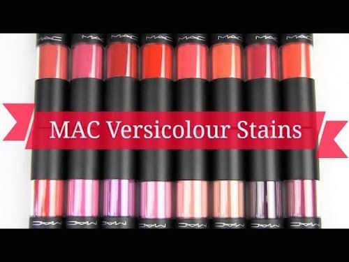 MAC Versicolour Stain Lipgloss (Select Color) 8.5 ml/.28 oz Full Size - FragranceAndBeauty.com