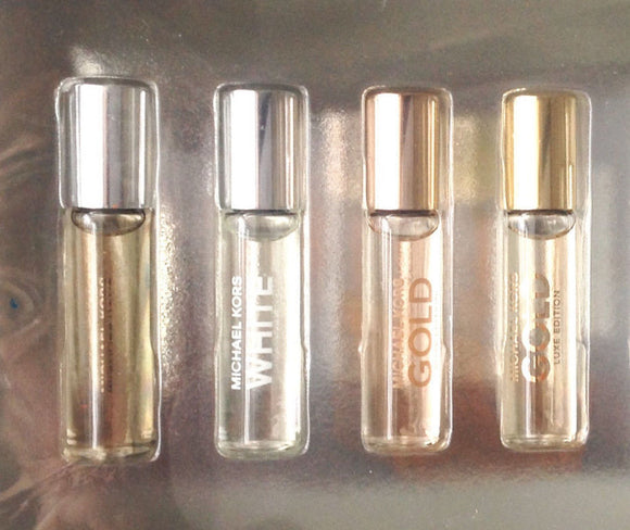 Michael Kors, Gold Luxe OR Gold Rose for Women (Select) 5 ml/.17 oz EDP Mini Rollerball Unboxed - FragranceAndBeauty.com