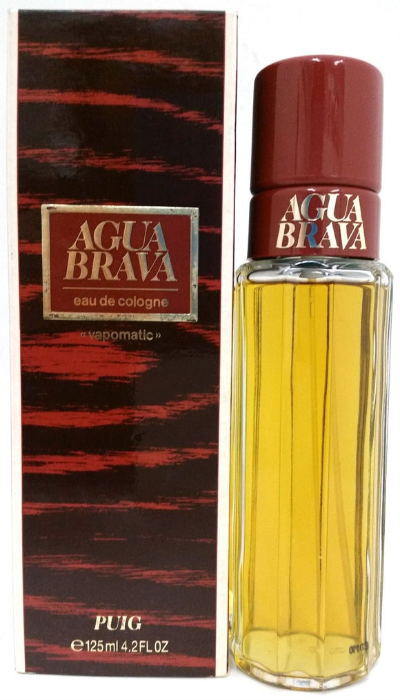 Agua Brava (Vintage) by Puig for Men 4.2 oz Eau de Cologne Vapomatic - FragranceAndBeauty.com