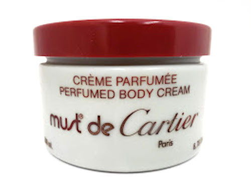 Must de Cartier (Vintage) for Women 6.76 oz Perfumed Body Cream Unboxed - FragranceAndBeauty.com