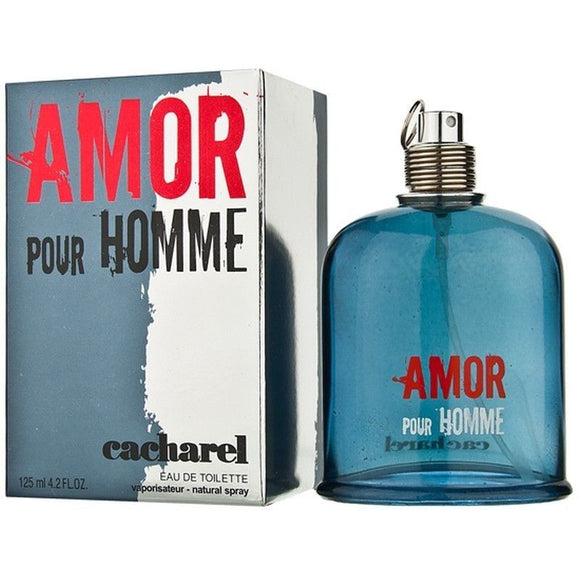 Amor Pour Homme by Cacharel for Men 4.2 oz Eau de Toilette Spray - FragranceAndBeauty.com