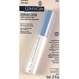 Covergirl Extremely Gentle Liquid EyeLiner (Select Color) 8 ml/.27 oz Full Size Sealed - FragranceAndBeauty.com