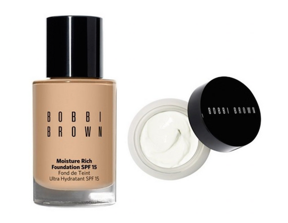 Bobbi Brown Moisture Rich Foundation SPF 15 & Extra Repair Moisture Cream Duo (Select Color)