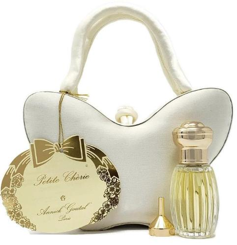 Petite Cherie by Annick Goutal for Women Set: 15 ml/0.5 oz EDP Spray w/Funnel and Butterfly Handbag - FragranceAndBeauty.com