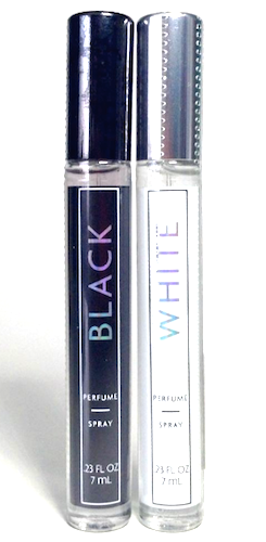 Bath & Body Works Black or White Perfume (Select 1 Fragrance) 7 ml/.23 oz Perfume Spray