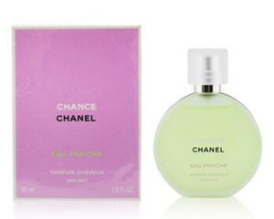 Chanel Chance, Eau Fraiche, Tendre for Women (Select 1 Fragrance) 1.2 oz Hair Mist