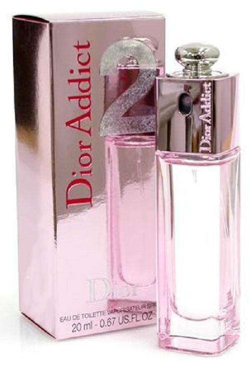 Dior Addict 2 by Christian Dior for Women 20 ml/.67 oz Eau de Toilette Spray - FragranceAndBeauty.com