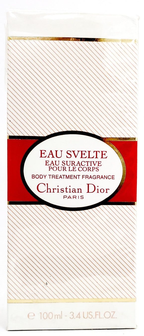 Eau Svelte by Christian Dior for Women 3.4 oz Body Treatment Fragrance Spray - FragranceAndBeauty.com