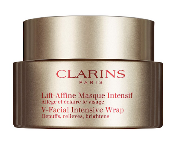 Clarins V-Facial Intensive Wrap Mask 75 ml/2.5 oz New in Tester Box