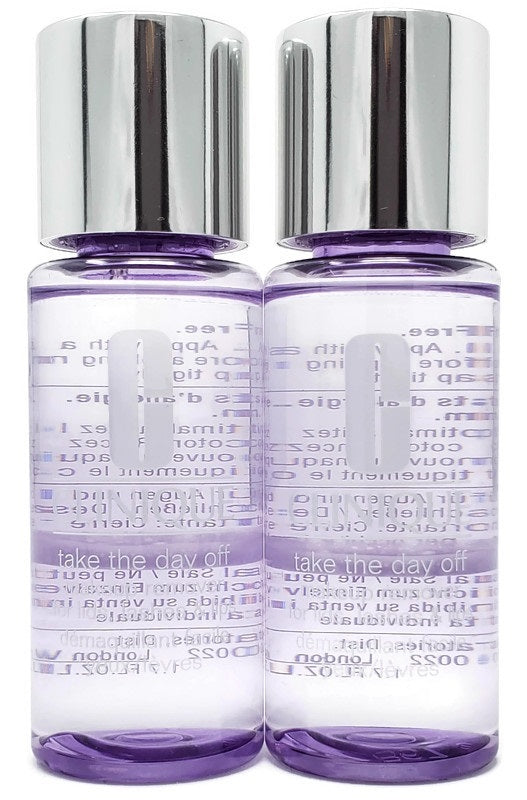 Clinique Take The Day Off Eye Makeup Remover (Select Size) Deluxe Sample (Lot of 2) - FragranceAndBeauty.com