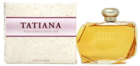 Tatiana by Diane von Furstenberg for Women 4.0 oz Perfumed Bath Oil Splash - FragranceAndBeauty.com