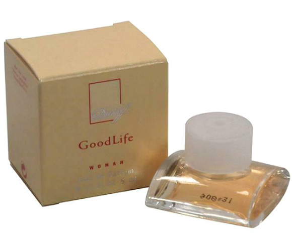 Good Life by Zino Davidoff for Women 5 ml/0.17 oz Eau de Parfum Mini