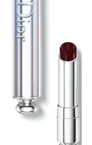 Dior Addict Lipstick (987 Black Tie) Sensational Color Hydra-Gel Core Mirror Shine