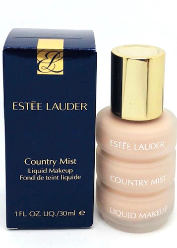 Estee Lauder Country Mist Liquid Makeup Foundation (01 Country Beige) 1 oz Full Size