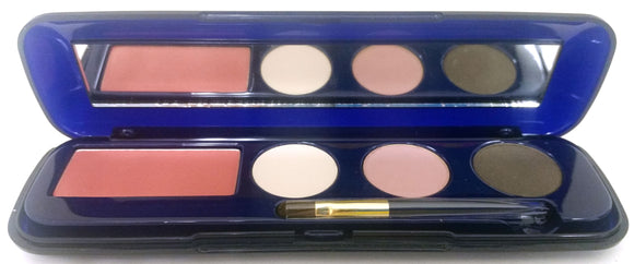 Estee Lauder Compact Disc Eyeshadow + Blush All Day Natural CheekColor Unboxed - FragranceAndBeauty.com