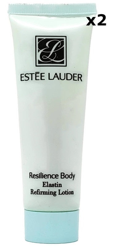 Estee Lauder Resilience Body Elastin Refirming Lotion 30 ml/1 oz Deluxe Sample (Lot of 2) - FragranceAndBeauty.com