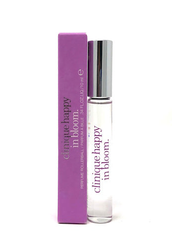 Clinique Happy in Bloom for Women 10 ml/.34 oz Perfume Rollerball - FragranceAndBeauty.com