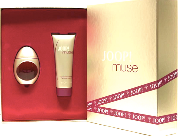 Joop! Muse for Women 2-Piece Set: 1.7 oz Eau de Parfum Spray + 2.5 oz Shower Gel