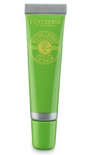 L'Occitane En Provence Zesty Lime Lip Balm 5% Shea Butter 12 ml/.4 oz Full Size