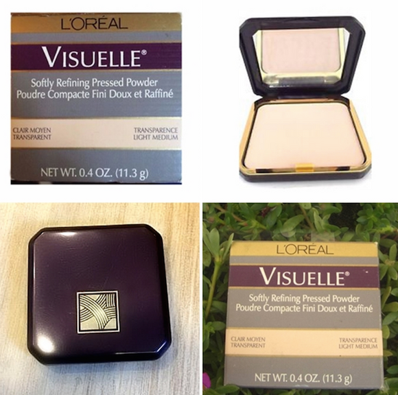 L'Oreal Visuelle Soft Refining Pressed Powder (Select Color) 11.3 g/.4 oz Full Size