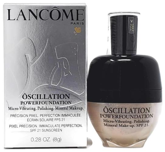 Lancome Oscillation Powerfoundation SPF 21 (Select Color) Micro-Vibrating, Polishing, Mineral Makeup Full Size - FragranceAndBeauty.com