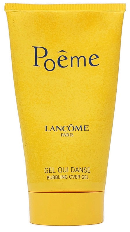 Poeme by Lancome for Women 5 oz Bubbling Over Gel - FragranceAndBeauty.com
